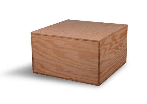 Plywood Casket Image
