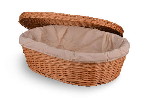 Wicker Casket Image