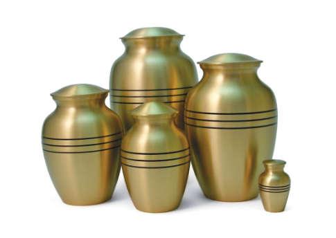Classic Bronze Urn Image
