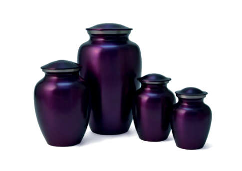 Classic Pet Violet Urn Image