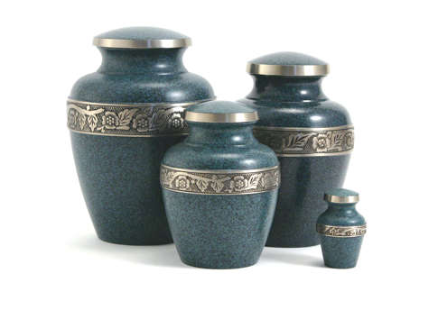 Avalon Urn- Evening Blue Image