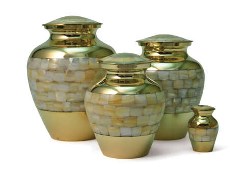 Mother of Pearl Elite Urn Image