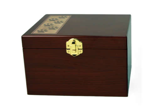 Paw Print Memory Chest Image